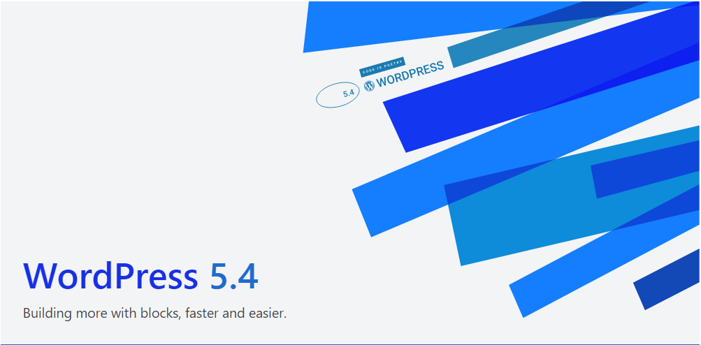 """WordPress 5.4 """"Adderley"""" – A New Update and New Features"""