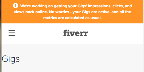 Fiverr made a statement on this issue.