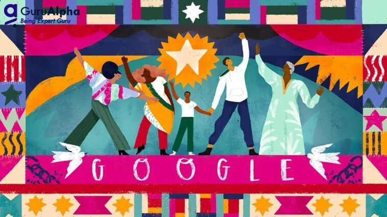 Google Doodle honors the 155th anniversary of Juneteenth
