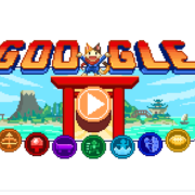 Google unveiled one of its most complex Doodles in time for the 2020 Tokyo Olympic Games. It's video game called Doodle Champion Island Games. (Screenshot captured from Google)